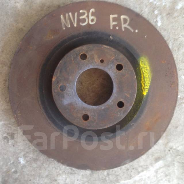 Диск тормозной. Nissan Skyline, PV36, V36, NV36 Двигатели: VQ35HR, VQ25HR