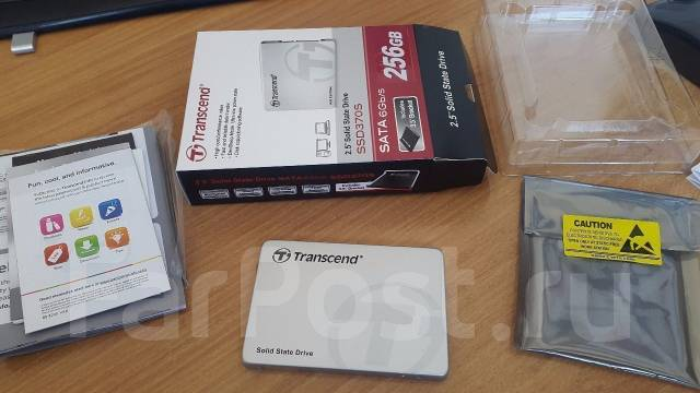 SSD-накопители. 256 Гб, интерфейс SATA