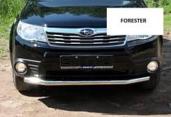 Защита бампера, пороги Subaru Forester с 2008 года