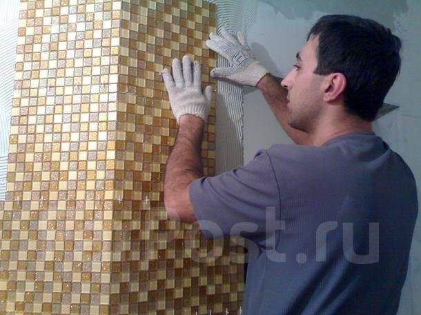 Отделка керамической плитки