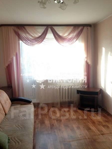 1-комнатная, улица Карьерная 26. Снеговая, агентство, 28 кв.м. Комната
