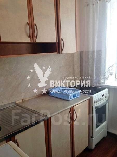 1-комнатная, улица Карьерная 26. Снеговая, агентство, 28 кв.м. Кухня