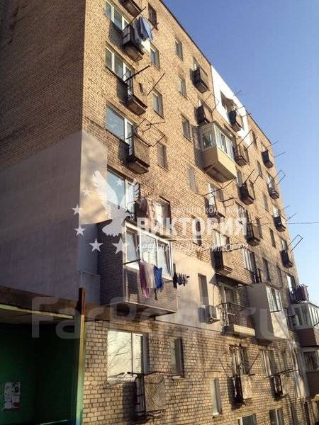 1-комнатная, улица Карьерная 26. Снеговая, агентство, 28 кв.м. Дом снаружи