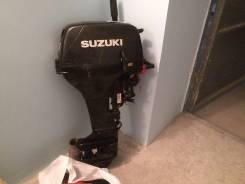 Suzuki. 15,00л.с., 2х тактный, бензин, нога S (381 мм), Год: 2011 год