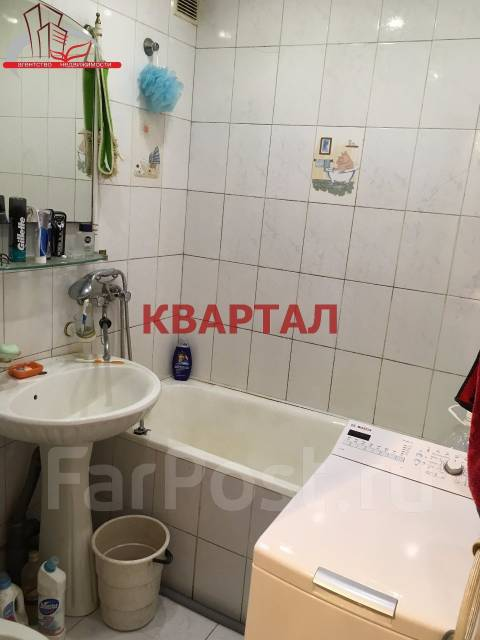 1-комнатная, улица Борисенко 68. Борисенко, агентство, 34 кв.м. Сан. узел
