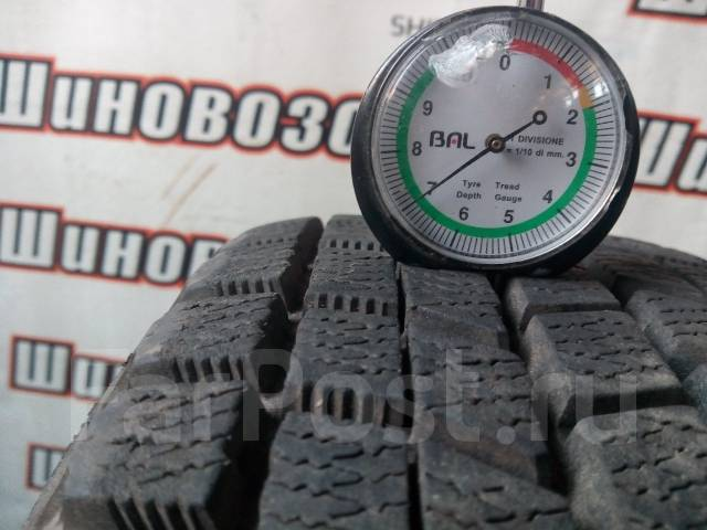 Bridgestone Blizzak MZ-03. Зимние, без шипов, 2002 год, износ: 20%, 4 шт