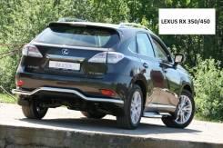 Защита бампера(зад), пороги на Lexus RX350/450 с 2009 года