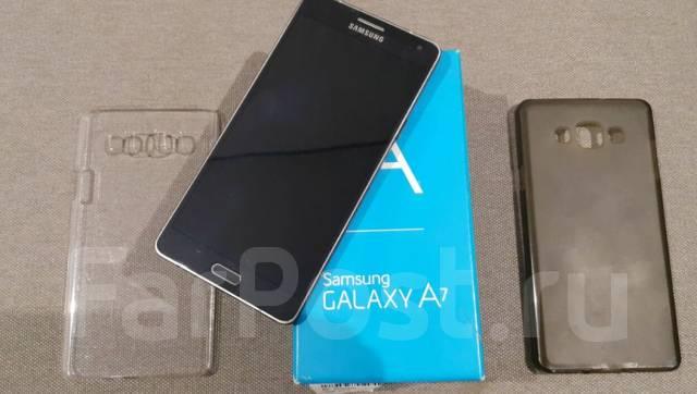 Galaxy A7. Б/у
