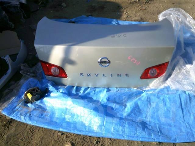 Крышка багажника. Nissan Skyline, HV35, NV35, PV35, V35 Двигатели: VQ30DD, VQ35DE, VQ25DD
