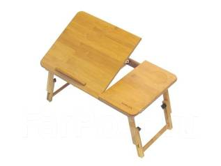 Столик для ноутбука Suncool (L14). Без вентиляции 55х35см Чистый Бамбук