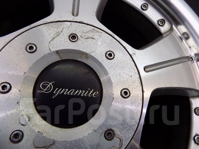Alutec Dynamite. 7.0x17, 6x139.70, ET25, ЦО 108,0мм.