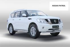 Защита бампера и порогов Nissan Patrol с 2007 по 2014 год