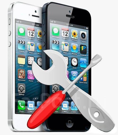 Ремонт, замена экрана на iPhone 4s,5,5s,6/6+,6s/6s+,7 Стекло в подарок