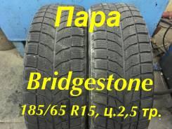 Bridgestone Blizzak WS-60. Зимние, без шипов, 2008 год, износ: 50%, 2 шт