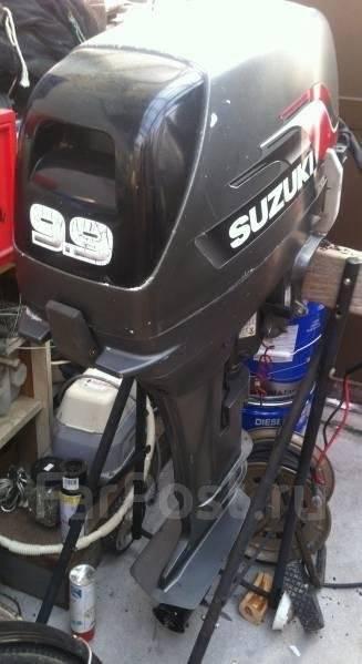 Suzuki. 9,90л.с., 2х тактный, бензин, нога S (381 мм), Год: 2010 год