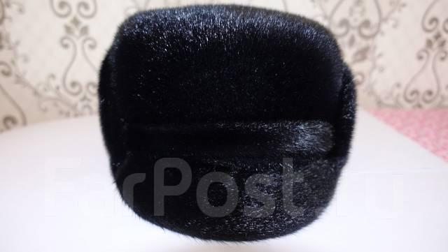 Красивая шапка-фуражка из нерпы. 58