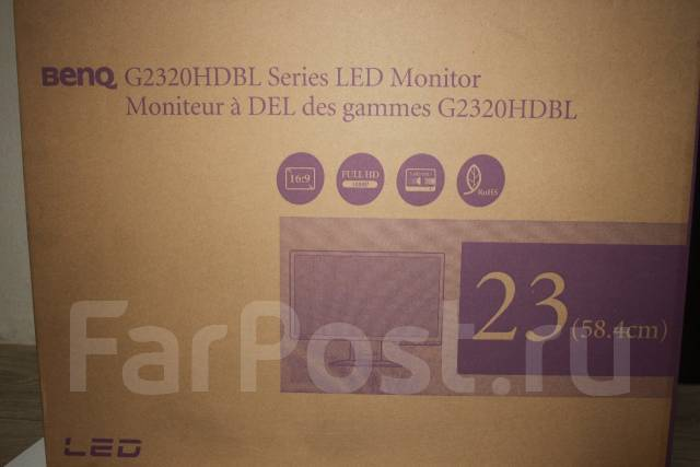 "BenQ G2320HDBL. 23"" (58 см), технология LED"