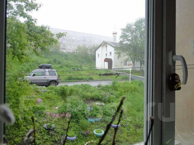 Гостинка, улица Новожилова 12. Борисенко, частное лицо, 20 кв.м. Вид из окна днем