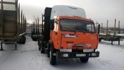 Камаз 54115. Продам седельный тягач с полуприцепом (сортиментовоз 13 м), 10 850 куб. см., 8 000 кг.
