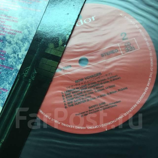 Виниловая пластинка Barry Gibb- Now Voyager