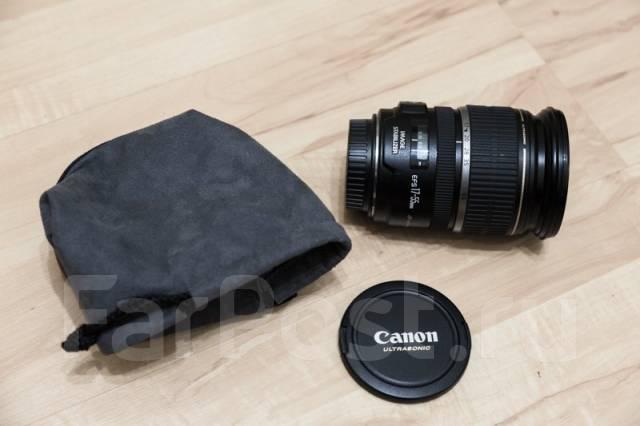 Объектив Canon EF-S 17-55mm f2.8 IS USM. Для Canon EF-S, диаметр фильтра 77 мм