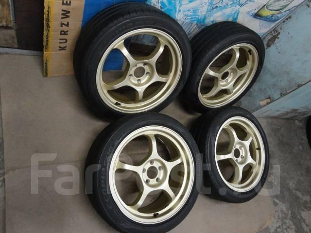 Продам Крутые Стильные Спорт колёса Impul+Лето 215/45R17Toyota, Subaru. 7.0x17 5x100.00 ET47
