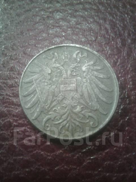 Австрия 2 геллера 1918г.