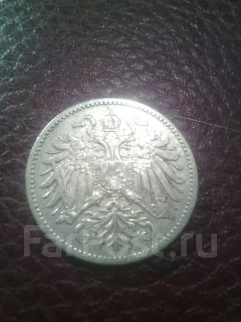 Австрия 10 геллеров 1895г.