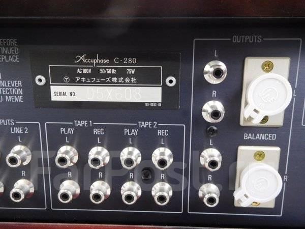 Accuphase C-280 / P-500 усил. +пред в отл. состоянии комплект.220 Вольт