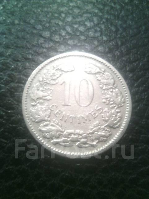 Люксембург 10 сентим 1901г.