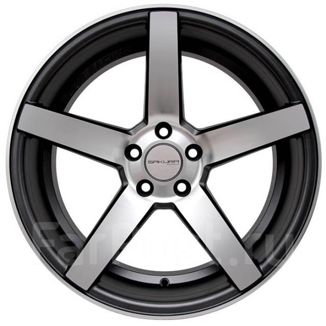 Sakura Wheels 9140. 8.5x18, 5x114.30, ET35, ЦО 73,1мм.
