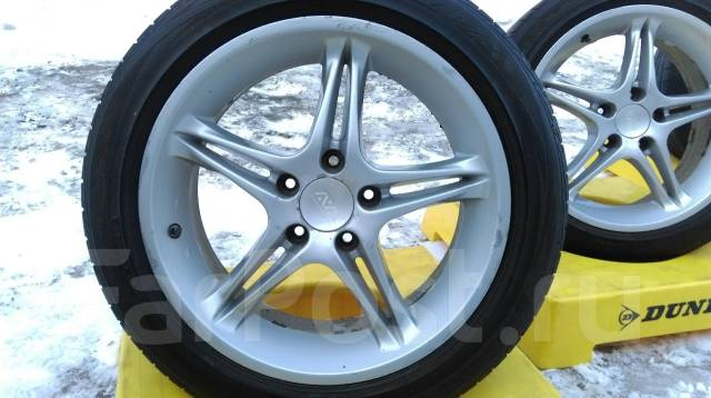 Японские AVS VS-5 5x114,3 + Bridgestone Playz PZ-X 215-50-17. 7.5x17 5x114.30 ET40 ЦО 70,0 мм.