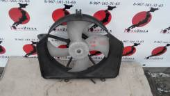 Вентилятор охлаждения радиатора. Honda Jazz, GD1 Honda Fit, GD4, GD3, GD2, GD1