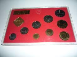 Набор монет СССР 1974 года UNC