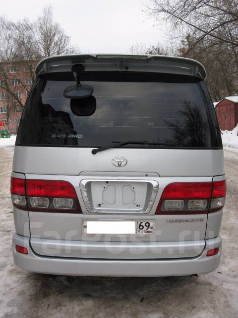 Дверь багажника. Toyota Hiace Regius Toyota Regius, KCH40, RCH47, KCH46, RCH41 Двигатели: 1KZTE, 3RZFE