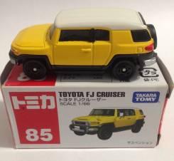 Модель Моделька Toyota FJ Cruiser. 1:66. Tokara Tomy.