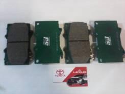 Колодки тормозные. Toyota Land Cruiser, FZJ100, FZJ105, FZJ71, FZJ74, FZJ76, FZJ78, FZJ79, GRJ71, GRJ76, GRJ76K, GRJ78, GRJ79, GRJ79K, HDJ100, HDJ100L...