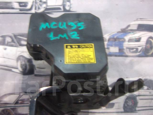 Блок abs. Lexus RX330, MCU38, MCU35 Lexus RX350, MCU38, MCU35 Lexus RX300, MCU35, MCU38 Lexus RX300/330/350, MCU35 Toyota Harrier, MCU35, MCU35W, MCU3...