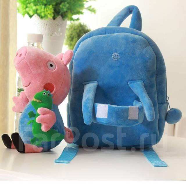 "Детский рюкзак ""Джордж"". Свинка Пеппа. Под заказ"