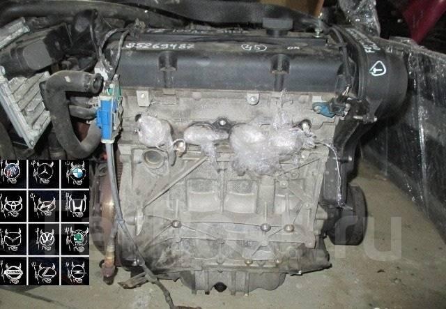 Двигатель в сборе. Ford Fusion Ford Focus Двигатели: 1, 6, TIVCT