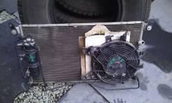 Вентилятор радиатора кондиционера. Toyota Sequoia, UCK45, UCK35 Двигатель 2UZFE