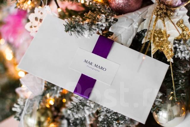 Подарочный сертификат на фотосессию - лучший подарок! Дарите счастье!