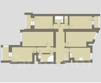 5-комнатная, проспект Комендантский 25к1. агентство, 110 кв.м.