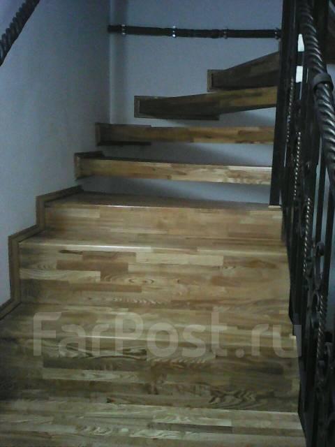 Изголовление и монтаж лестниц