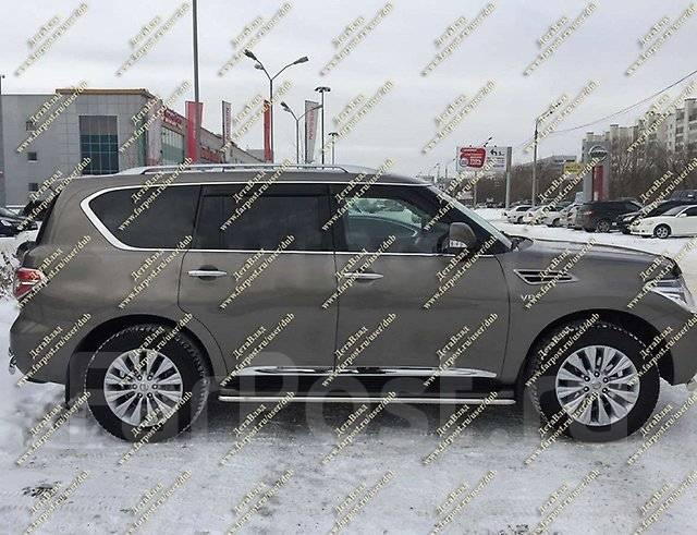 Накладка на дверь. Nissan Patrol