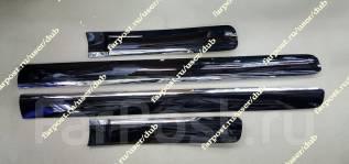 Молдинги на двери Lexus GX460 (Накладки Лексус) черные