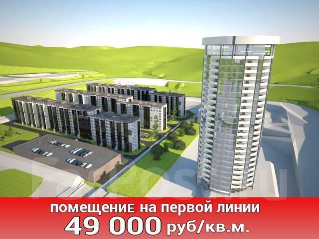 35 кв. м на 1ой линии -парковка- в новом микрорайоне на 15 000 жителей. Улица Нейбута 135, р-н 64, 71 микрорайоны, 35 кв.м.