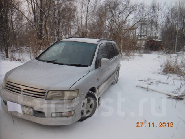 Mitsubishi Chariot. автомат, 4wd, 2.4 (165 л.с.), бензин, 190 тыс. км