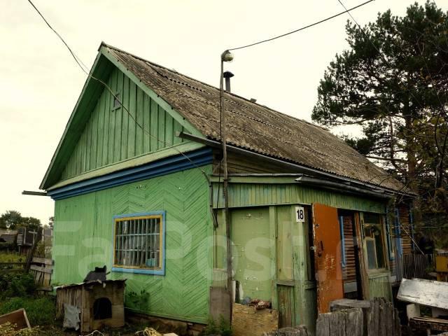 Хурба, дом, обмен на комнату в Комсомольске-на-Амуре. Первомайская, р-н Хурба, площадь дома 36 кв.м., отопление твердотопливное, от агентства недвижи...