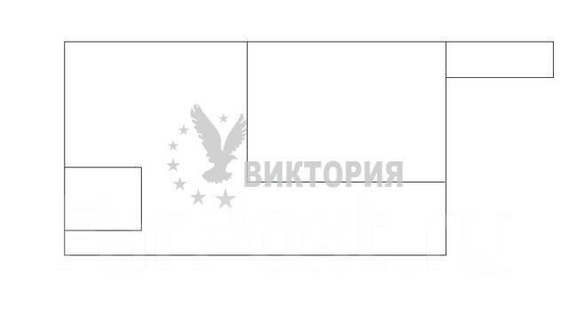 1-комнатная, улица Некрасовская 96/4. Некрасовская, агентство, 35 кв.м. План квартиры